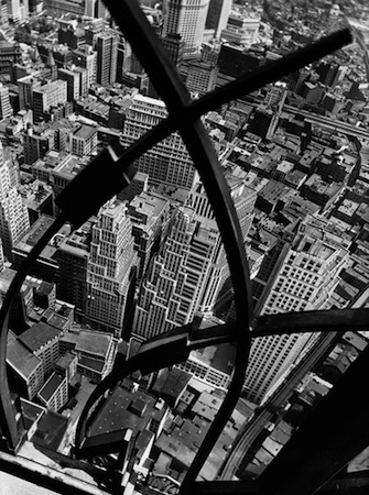 City Arabesque from the Roof  of 60 Wall Street Tower, New York