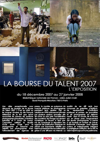 Jeunes photographes de la Bourse du talent