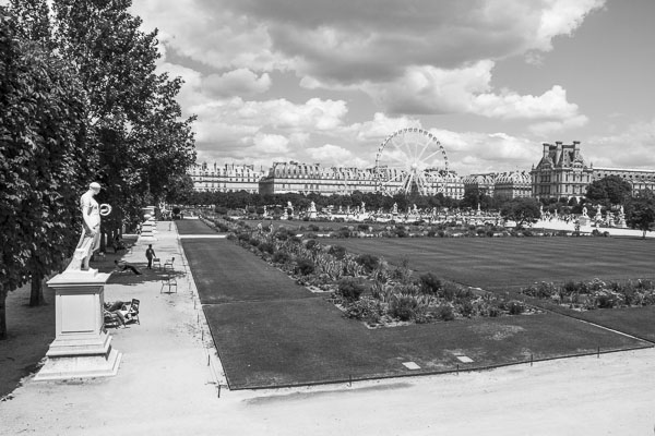 Photo du Jardin des Tuileries