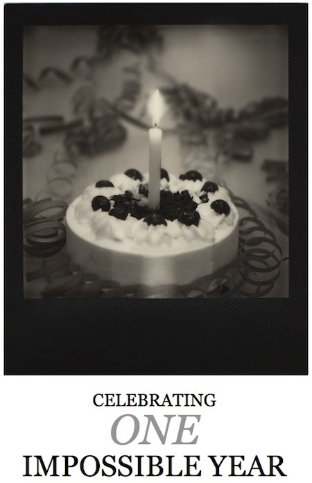 Happy birthday the Impossible Project