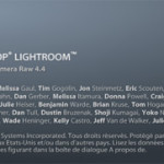 Lightroom 1.4, mise à jour