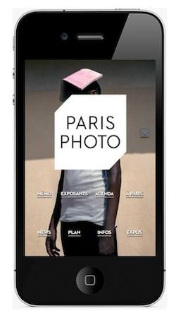 Application Paris Photo pour iPhone et iPad