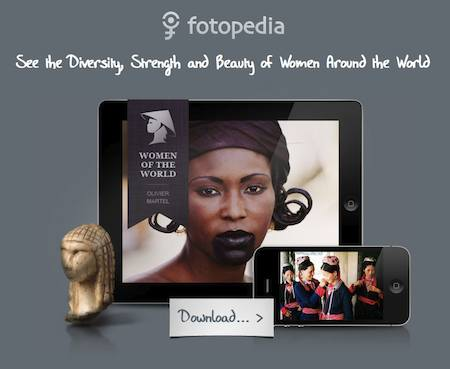 Application iPhone et iPad - Femmes du monde par Photopédia