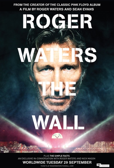 Roger Waters The Wall, séance unique le 29 septembre !