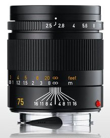 Leica Summarit M 75/2,5