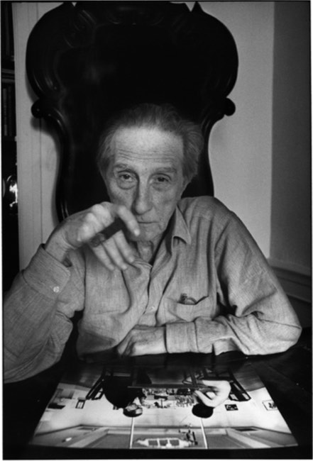 Marcel Duchamp, New York, 1965 © Ugo Mulas