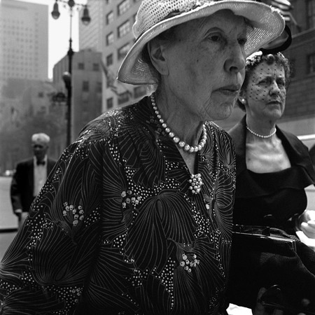 1954, New York par Vivian Maier © Maloof Collection