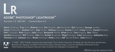 Lightroom 1.3